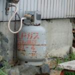 ガスなどの撤去