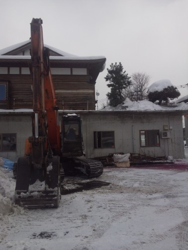 新規解体工事の写真