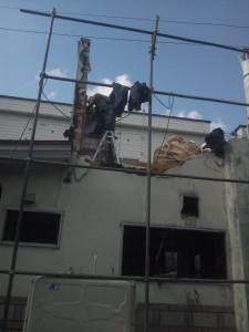 建物の養生
